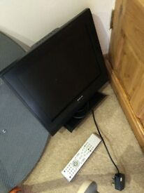 "Compact 15"" TV in good working condition"