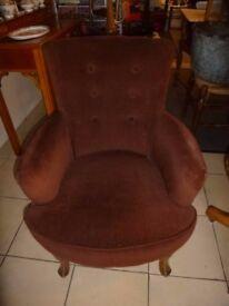 vintage bedroom chair