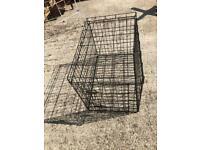 Single door pet cage