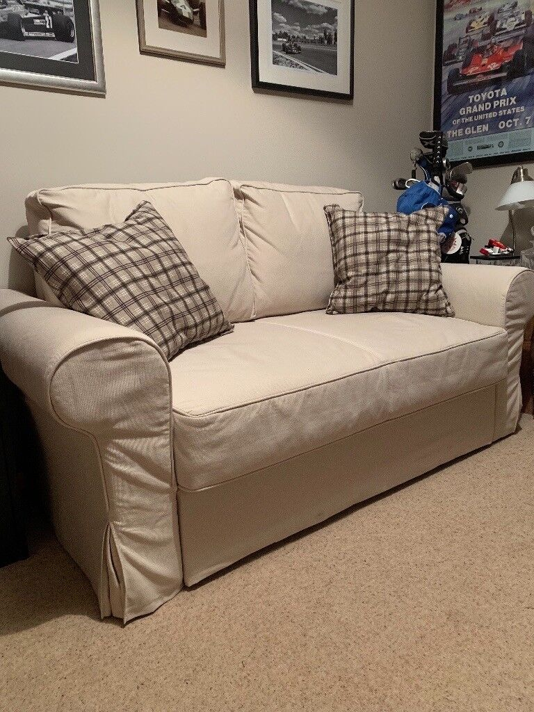 Ikea Backabro 2 Seater Sofa Bed Used Once Spotless Condition From A