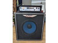 Ashdown MAG600 Bass Head Amp & 1x15 Bass Cab