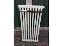 Designer bathroom radiator c/w towel rail