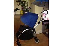 Bugaboo bee plus with black or blue hood