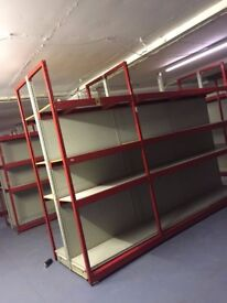 STOCK ROOM RACKING EXCELLENT CONDITION MUST BE SEEN