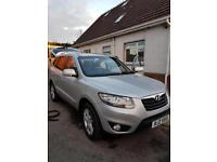 2010 SANTA FE, PERFECT CONDITION, DIESEL AUTOMATIC, FULL SERVICE HISTORY