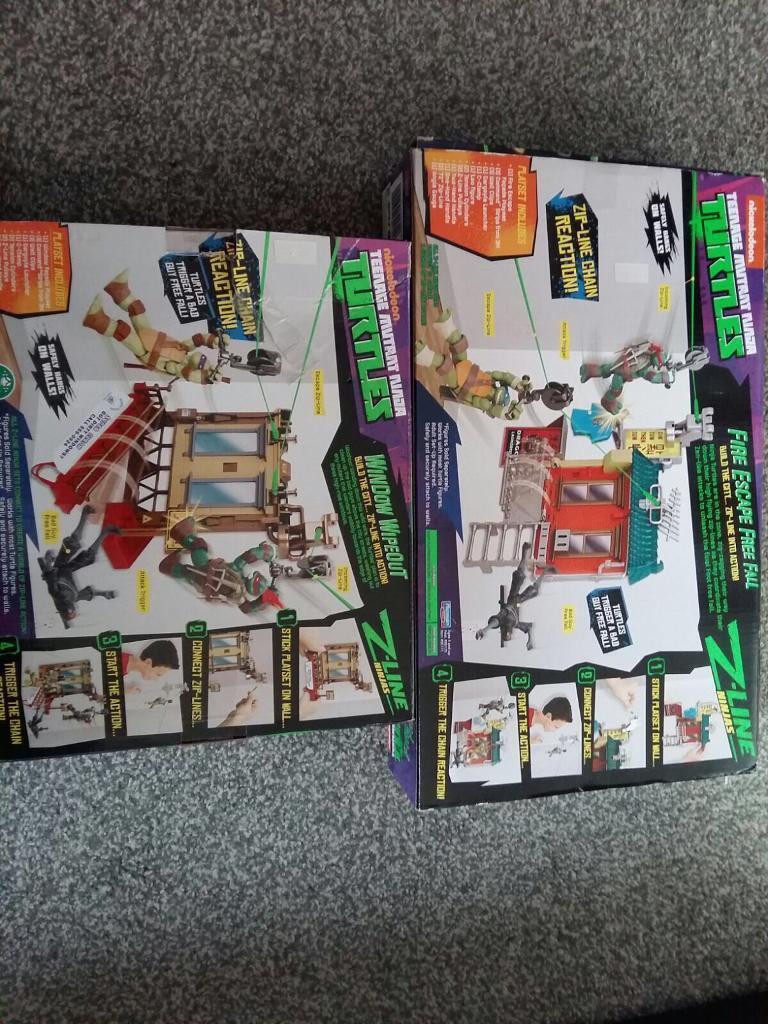 Teenage Mutant Ninja Turtles Zipline toys