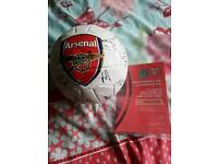 Arsenal signed ball 2017-18
