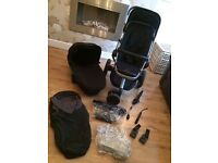 Quinny Buzz 2 Pushchair, carrycot & accessories