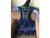 Halloween witch dress up age 8-11years