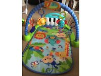 Fisher price baby kick and play piano gym
