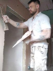 PLASTERER RENDERER (plastering,rendering,skimming)
