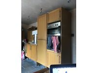 All built cupboards for kitchen and Dining table! 17 storage cupboard/spaces
