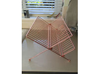 Habitat Alka Copper Dish Rack (New)