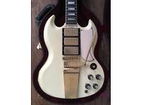 Gibson Custom shop SG custom reissue VOS