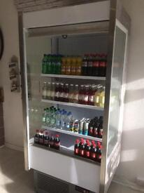 Shop display fridge / drinks / food / cafe