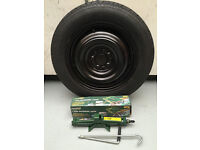 Nissan Juke - Space Saver Spare Wheel (Including Continental Tyre & Jack) NEW