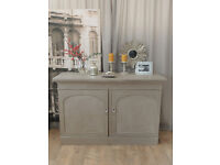 Shabby chic antique Victorian sideboard/dresser by Eclectivo