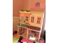 ELC Rosebud Cottage Town House vet shop and cake shop