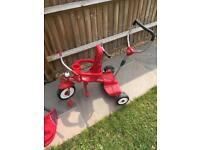 Radio flyer stand and ride smart trike style