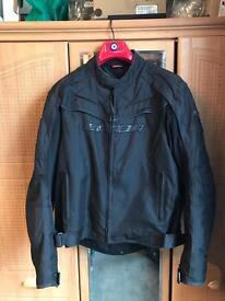 SPADA textile motorbike jacket. Size M