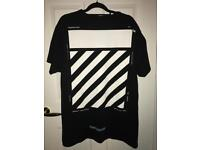 Off White SS18 Temperature Tee Black