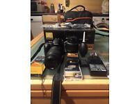 Nikon 5100 camera kit with extras