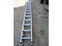 ABRU Starmaster 3.40 metre Aluminium Extending Ladder