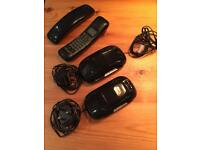 Cordless telephone set with answerphone