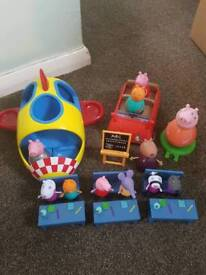 Peppa pig toy collection