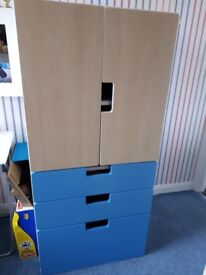 Ikea Stuva Childrens cupboard with drawers - excellent condition