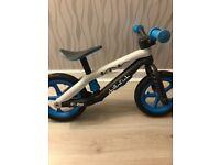 Boys blue lightweight balance bike