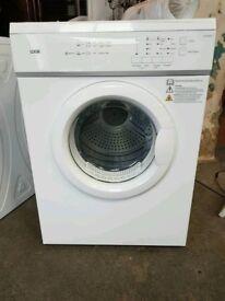 Brand New White Logik 7 Kg Vented Tumble Dryer