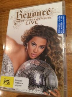 Beyonce Live - The Beyonce Experience Music DVD Mount Hutton Lake Macquarie Area Preview
