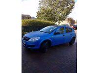 VAUXHALL ASTRA ACTIVE H 2010 1.4 PETROL BLUE/BLACK MATT 5 DOOR HATCHBACK LOW MILEAGE