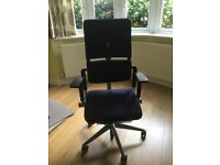 Office chair fully adjustable Steecase brand