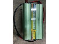 EDECOA Power Inverter 12V to 240V Pure Sine Wave 1000W converter LCD USB Port UK