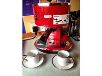 Bargain De'Longhi Icona ECO310R Pump Espresso Machine Colour:Scarlet Red