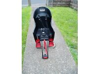 CHILD,S SEAT Fits to rear of most cycles USED TWICE, COMPLETE