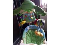 Fisher price rainforest electric swing