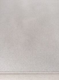 Cream quality fabric roller blind