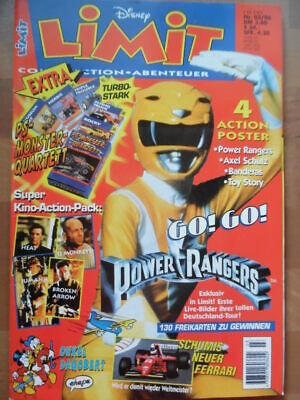 LIMIT 3 - 1996 (0) Power Rangers Antonio Banderas Schuhmacher mit Kartenspiel