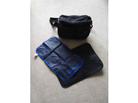 Mamas & Papas Baby Change Bag + 2 Mats excellent condition