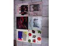 COLLECTION OF 36 LP VINYL RECORDS ROCK / JAZZ / POP / BLUES / PROGRESSIVE / FOLK.