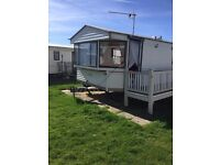 6 Berth caravan to let at Kings caravan park at Chapel St Leonards