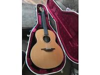 Lowden F-23 acoustic guitar with Hedway Pickup