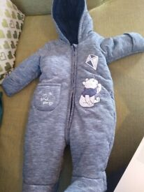752d394edaed Baby winter suit 0-3 months Marks and Spencer