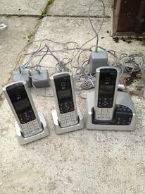Cordless phones with answer phone