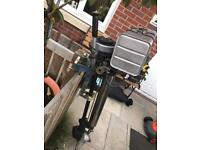 Electric start seagull outboard engine for fishing boat