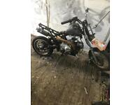 110cc £50! running pitbike project spares or repair