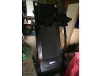 Folding treadmill used twice
